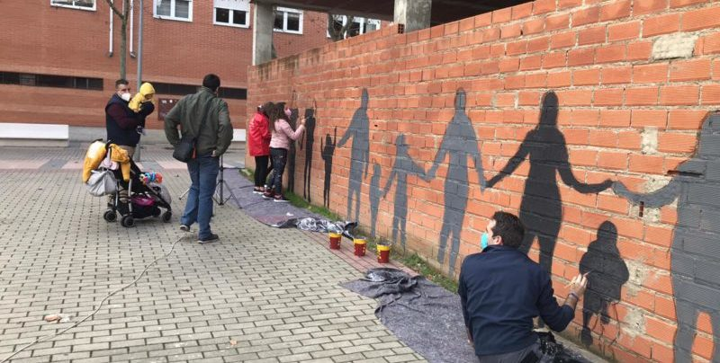 mural colaborativo