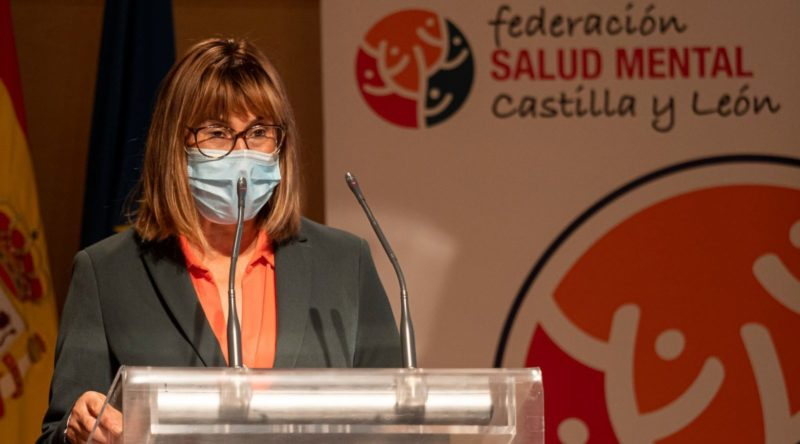 Elena Briongos, salud mental Castilla y León
